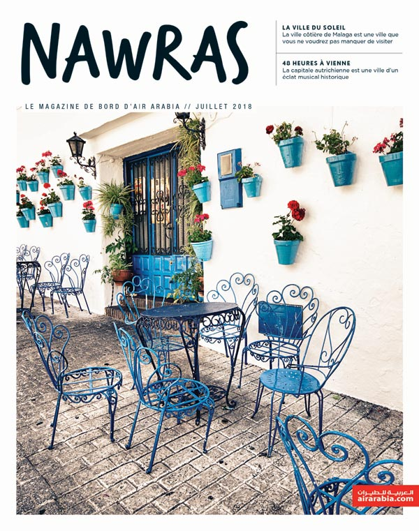 Nawras, the monthly in-flight magazine of Air Arabia,