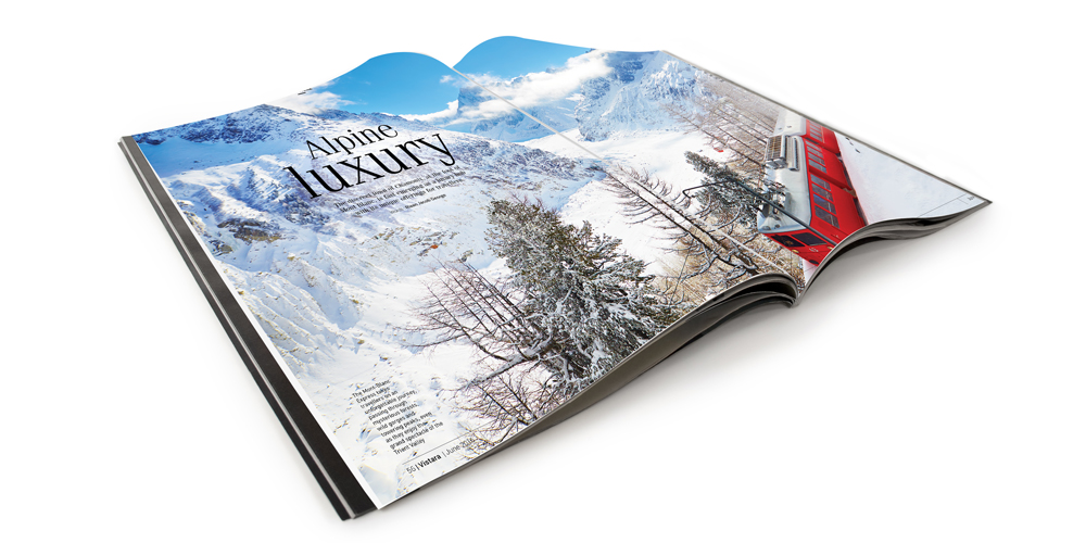 Advertising in Business of Fashion Magazine