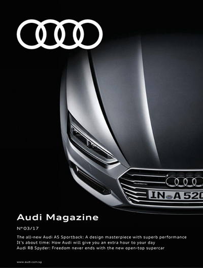 Automobile Magazine Advertising